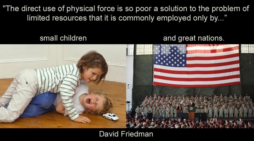 Graphic Truths series: David Friedman