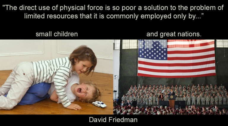 Graphic Truths series: David Friedman