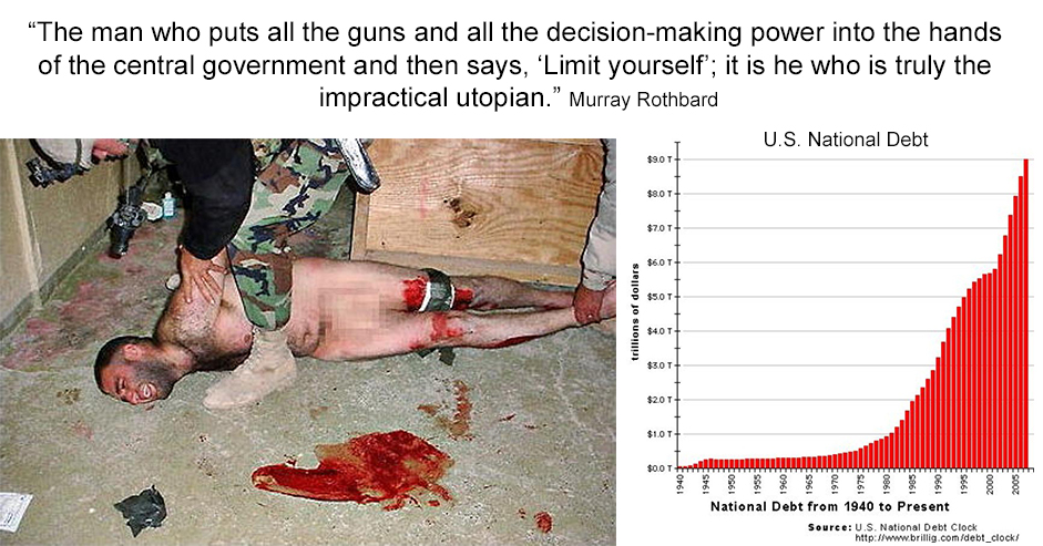 Graphic Truths: Murray Rothbard
