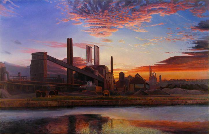 American Landscape by Arthur Chartow