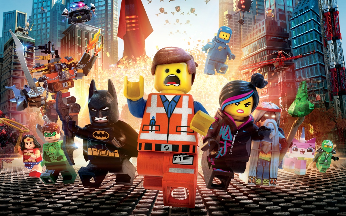The LEGO Movie: Liberty is Awesome!