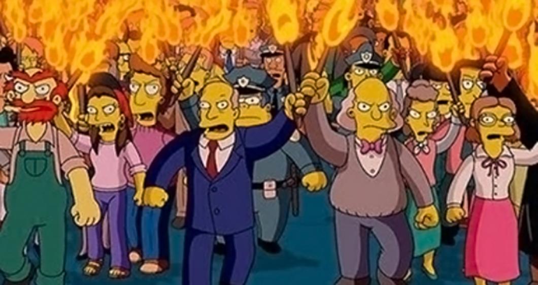 Simpsons-Mob
